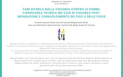 Fare ricerca sulla violenza contro le donne